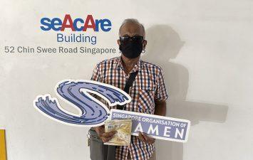 SOS Samudra: Reusable masks