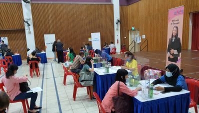 SOS Samudra: Seacare Manpower e2i job fair at Pasir Ris