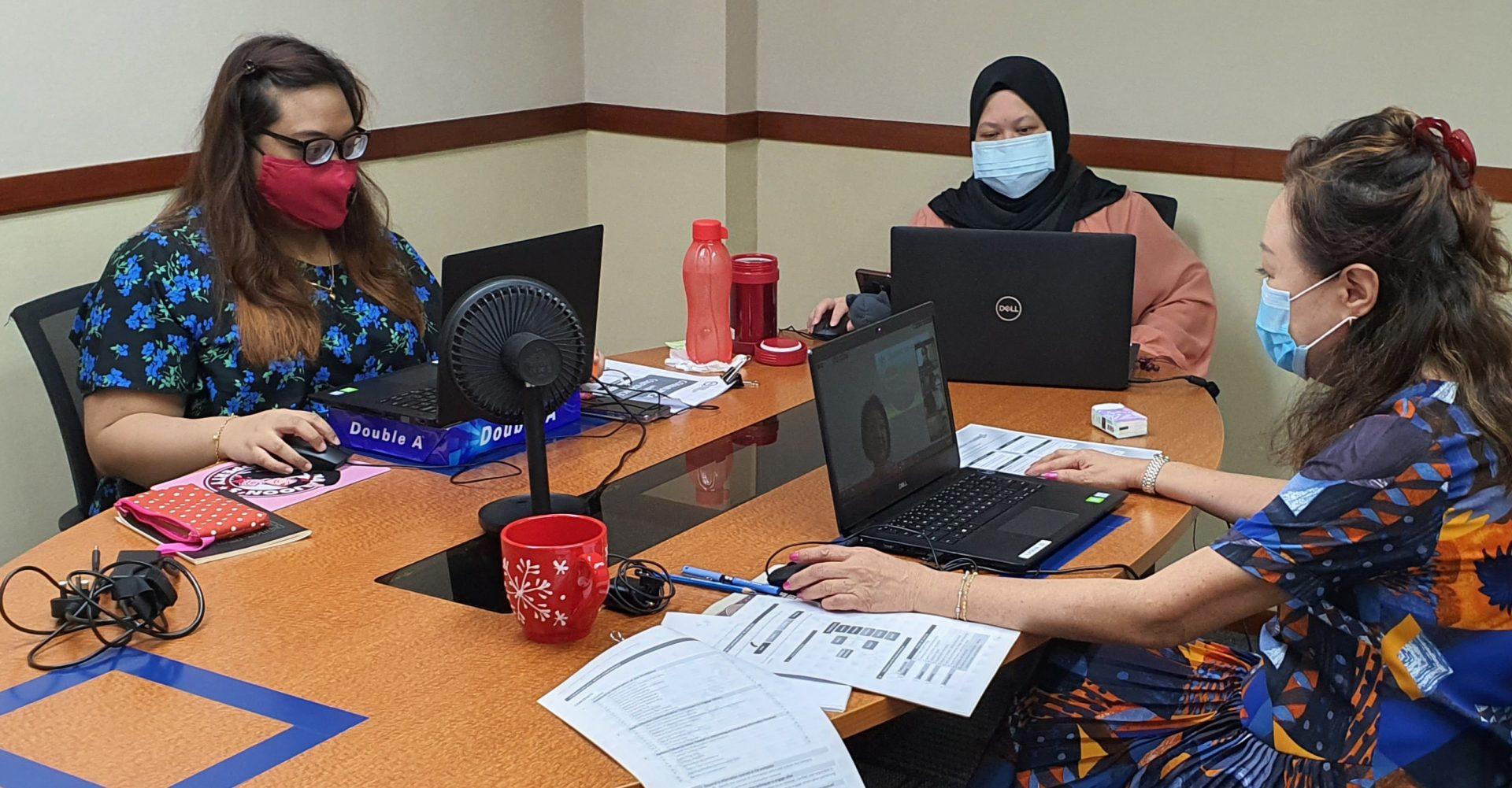 SOS Samudra: Seacare Manpower conducting online training